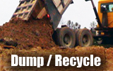 we accept solid waste consisting of earth and earth-like products, concrete, cured asphalt, rock, bricks, yard trimmings, and land clearing debris such as stumps, limbs and leaves